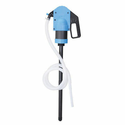 PLASTIC Lever Action Barrel Drum Pump For Oil Petroleum Product 2 Bung Adapter