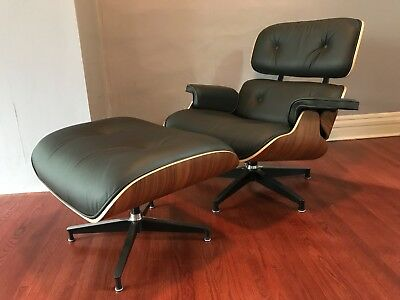 Herman Miller AUTHENTIC EAMES Lounge Chair and Ottoman