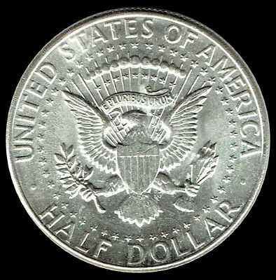 "1964-P Kennedy Half Dollar 90% SILVER US Mint Coin ""About Uncirculated"""