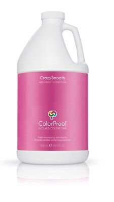 ColorProof CrazySmooth Anti-Frizz Conditioner 64 oz SEALED