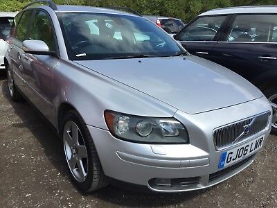 06 Volvo V50 2.0 D Se Estate **1 F/rec Owner, 11 Srvcs, Goes Into Limp Mode