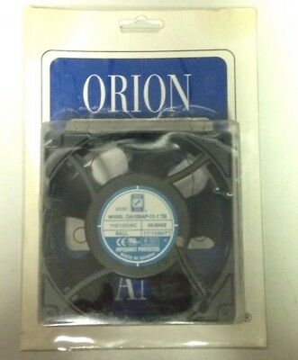 ORION FAN OA109AP-11 1TB  110/120 VAC 50/60Hz  17/15 Watt