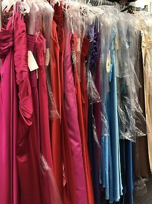 Lot of 8 Formal Prom Evening Homecoming Long Dresses