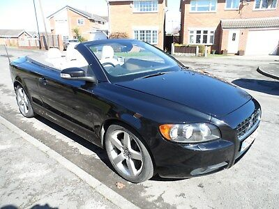 reduced 2008 volvo c70 convertible black 2 0 diesel manual cabriolet rh picclick co uk 2008 volvo c70 convertible manual 2007 volvo c70 manual transmission