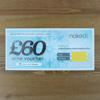 Naked Wines Voucher Worth £60