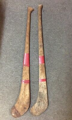 Vintage Old Antique Field Hockey Sticks Sport Collectible Man Cave Wall  Display