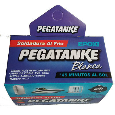 White Pegatanke Super strong epoxy adhesive! Waterproof!