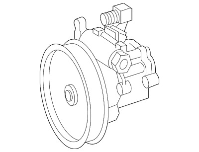 Remanufactured Oem Power Steering Control Valve For Ford Lincoln