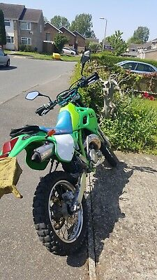 KAWASAKI KDX250 F1 SR Two stroke MOT road legal