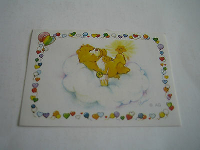 Vintage 1985 Panini Care Bears Sticker #163