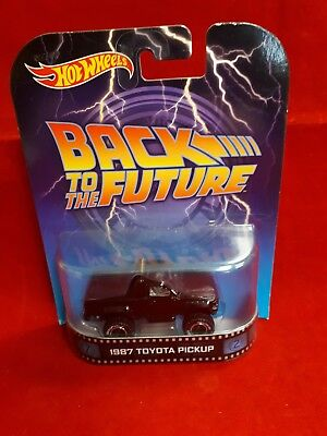 Back To The Future 1987 Toyota Pick Up Hot Wheels