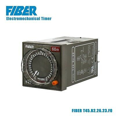 FIBER T45.B2.26.23.F0 FASTON Electromechanical Timer Time Relay