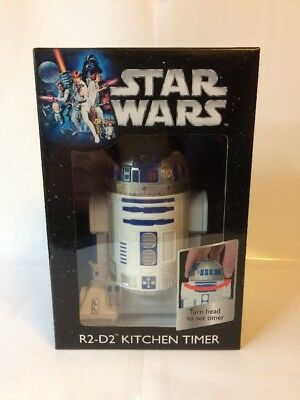Star Wars - R2-D2 - Kitchen Timer - White & Blue - New Boxed - Free U.k. P&P