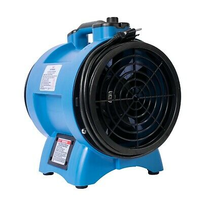 XPOWER X-8 1/3 HP Variable Speed Confined Space Ventilation Exhaust Fan Blower