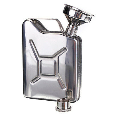 Wedding Party Bar Hip Flask With Funnel Liquor Whisky Bottle Alcohol Drinkware