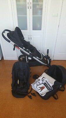 Baby Jogger - City Select Pram Stroller Double Black