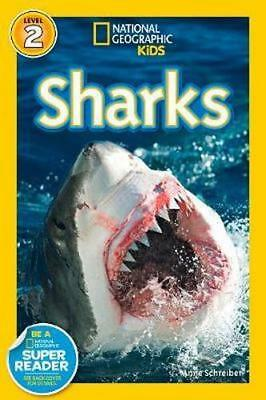 NEW Sharks! By Anne Schreiber Paperback Free Shipping