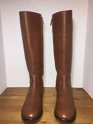 930900fafa6 TORY BURCH WOMEN S Boots 9M Jolie Riding Knee Hight Brown Leather ...