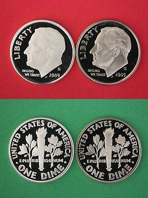 2005 P D S Roosevelt Dimes Proof /& BU From Proof /& Mint Sets Combined Shipping