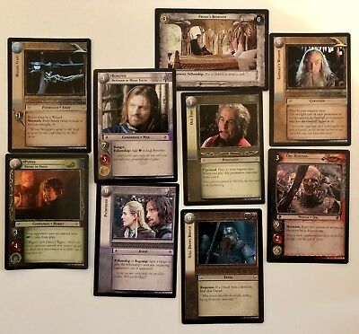 Lord Of The Rings Trading Card Game Mixed Lot- 150 Cards