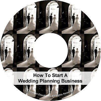 Wedding Planning Planner Business Audio Book & PDF on CD Make Money Work At Home