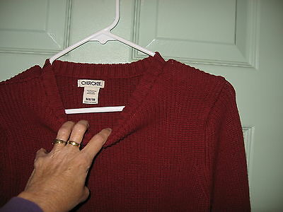 Cherokee Sweater - Red - Size M  8/10  Very Very Nice!!
