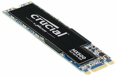 Crucial MX500 250GB 500GB 1TB M.2 Type 2280 SSD Internal Solid State Drive