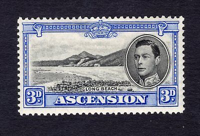 1938-53 Ascension.  SC#44 SG#42. Mint, Lightly Hinged, Very Fine.