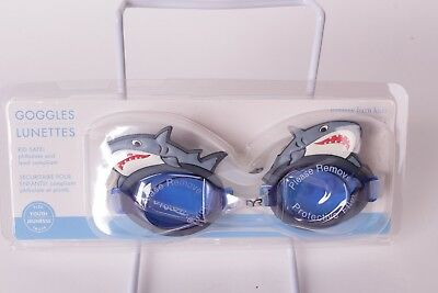 NWT TYR for Pottery Barn Kids Shark swim goggles size: youth
