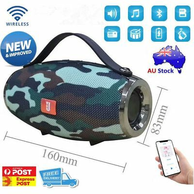 Bluetooth Speaker Portable Stereo AUX/TF/USB/FM/Radio Party For iPhone Samsung
