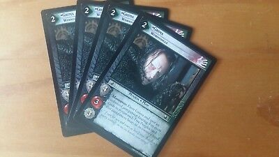 Decipher LOTR Lord of the Rings TCG TTT Grima 4R154 playset