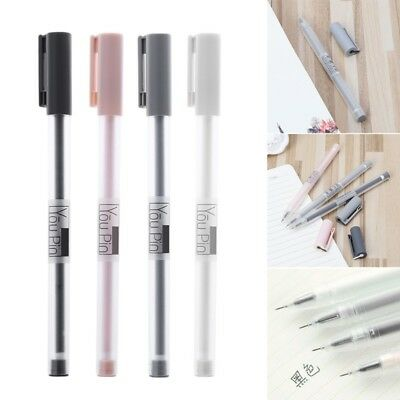 Cute 0.35mm Simple Gel Pen Office School Supplies Stationery For Kids Student