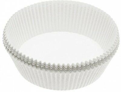 Non-Stick Round Paper Cake Tin Liners, 20 cm (Pack of 40)-22008