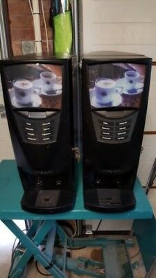 Two Etna soluble dispense coffee machines