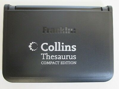 Education Exams Franklin Collins Thesaurus compact edition TPQ-109