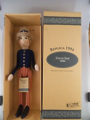 Steiff Puppe Uncle Sam 411601 Replika von 1994 50cm (1824)