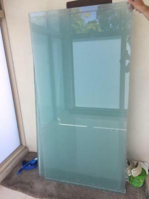 11 toughened glass windows for sale!!