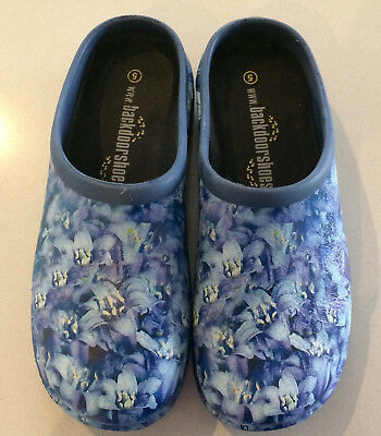 BACK DOOR SHOES Waterproof Garden Shoes Size 5 EU 36 Bluebells