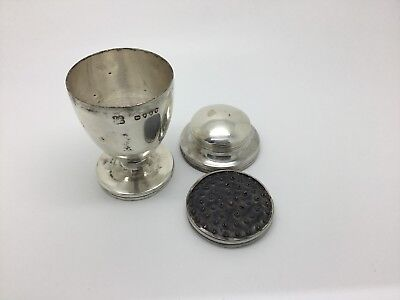 Victorian Sterling Silver Nutmeg Grater 1884 London Dobson And Sons