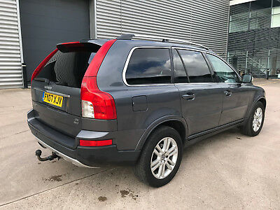 2007 Volvo Xc90 Se Luxury D5 Awd Auto Grey**7 Seats**leather**privacy**tow Bar