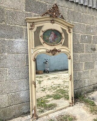 Stunning, Rare, French Antique Mirror, Original  Early 1800's, Vintage