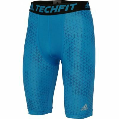 adidas Techfit ClimaChill 9 Inch Compression Short GFX AI9392~Mens~Small Only