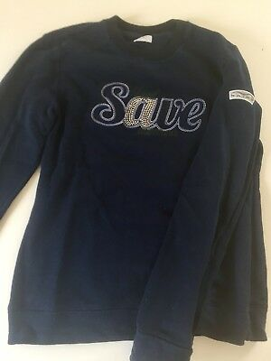 Animo Sweater Blau D42 Damen Baumwolle