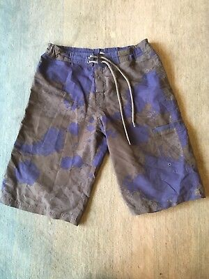 Kathmandu board shorts, Boys size 12, Blue and Grey