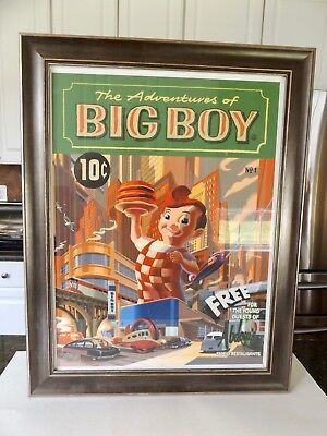 Very Nice Limited Edition Bobs Big Boy Poster