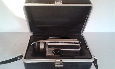 VINTAGE YASHICA Super 40K Movie Camera, Instruction Manual & Hard Case