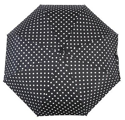 Knirps Belami Folding Telescopic Umbrella Automatic Open & Close Polka dot