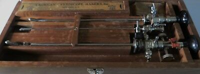 ACMI American Cystoscope Makers, Brown-Buerger Cystoscope, Antique, Urology