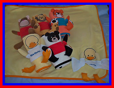 NEW Baby Blanket -ANIMAL  look-A-Like - WHOLESALE  LOT 12 Shower Christening