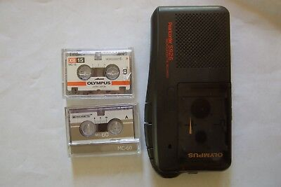 Olympus Pearlcorder S926 Dictaphone Microcassette recorder